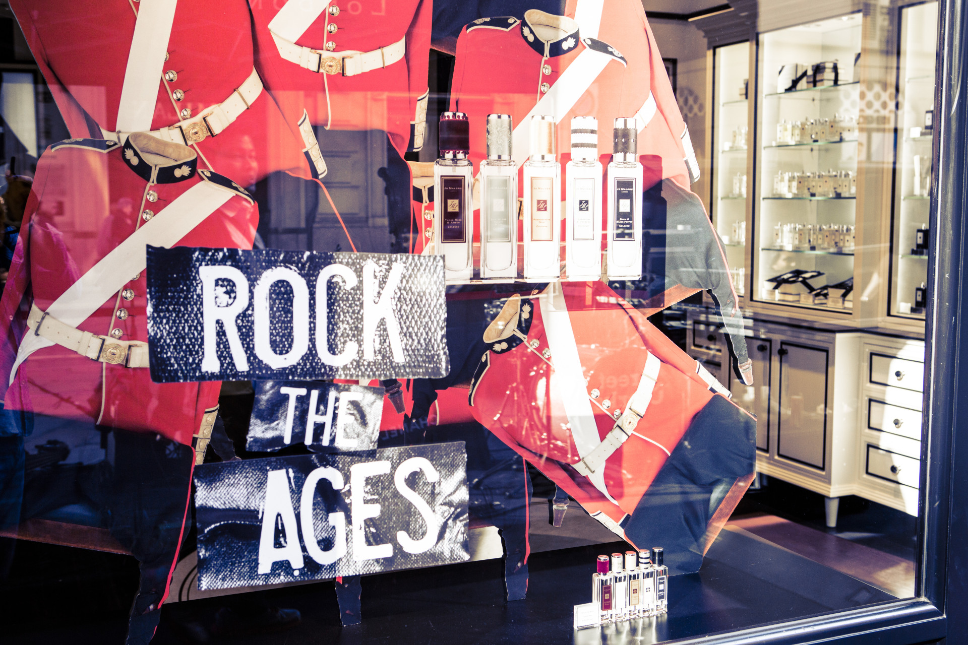 ROCK THE AGES – Street Clerks @ Jo Malone