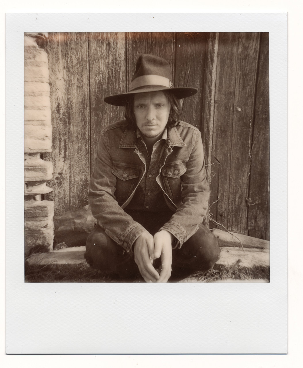 Gentleman Of The Road – Polaroid Backstage